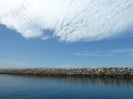 King Harbors, clouds, Redondo Beach, Jim Caldwell