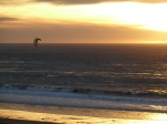 Avenues Sunset in Perfect Condition for Kite Surfing, Jim Caldwell