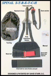 portable back traction, Spinal Stretch, sciatica, sciatic pain, spinalstretch, dr. david starr, back pain, back pain relief